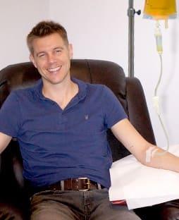 tony wrighton at iv boost uk's clinic
